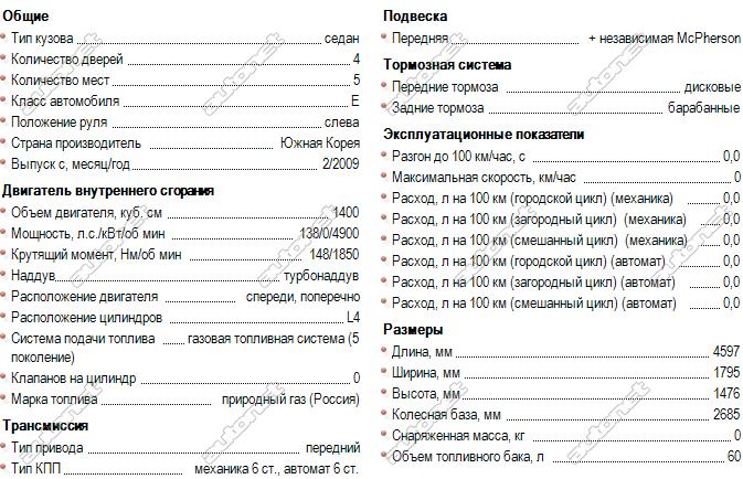 Технические характеристики двигателя шевроле круз